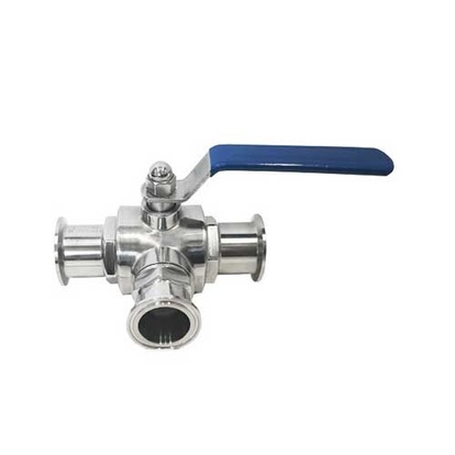 "3-way Ball Valve | 1.5"" TC"