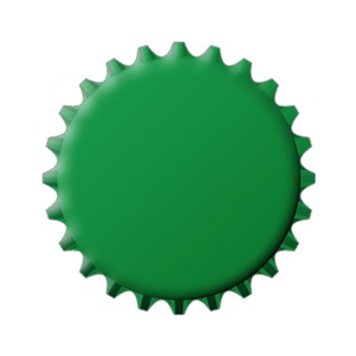 Green | Design Your Own Caps | 26 MM | 80 PCS