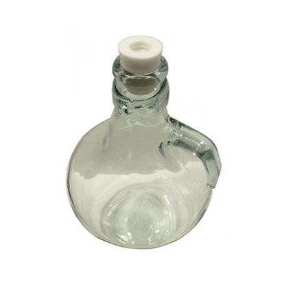 Rubber Bung | Clear Glass Jar | 5 Liters