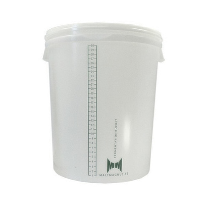 Fermentation Bucket | 30 L Without Hole For Faucet