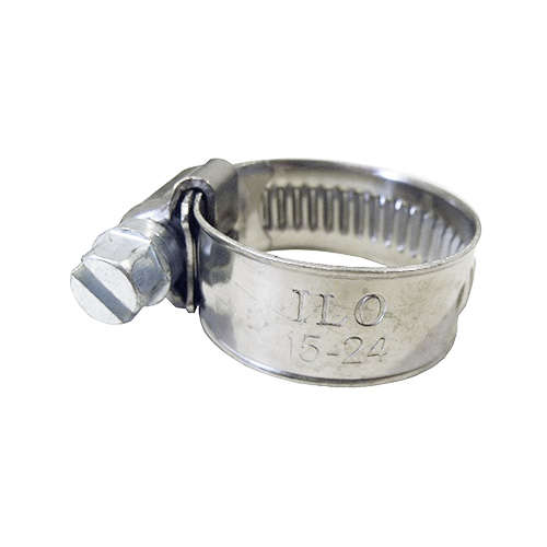 Hose Clamp | Stainless Steel | 15-24 mm