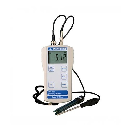 pH-Meter With Thermometer