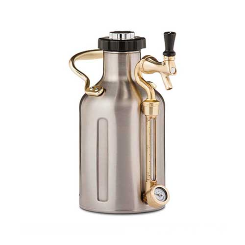 uKeg | 1.9 L | 64 oz | Stainless Steel