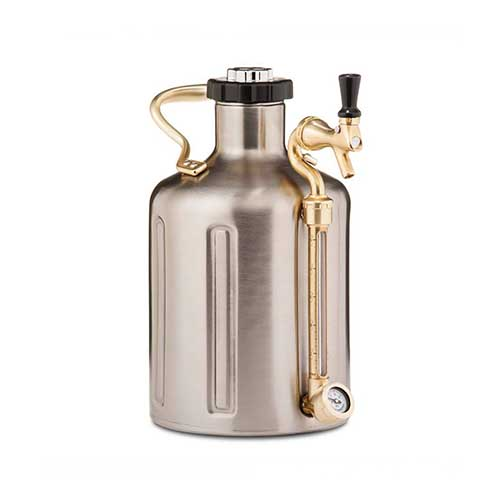 uKeg | 3.8 L | 128 oz | Stainless Steel