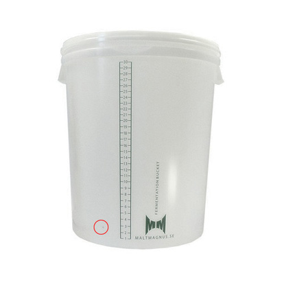Fermentation Bucket | 30 L With Hole For Faucet