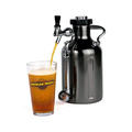 uKeg | 1.9 L | 64 oz | Black Chrome