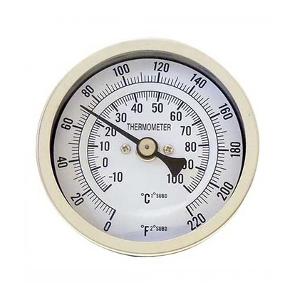 Bi-metal Thermometer | Adjustable