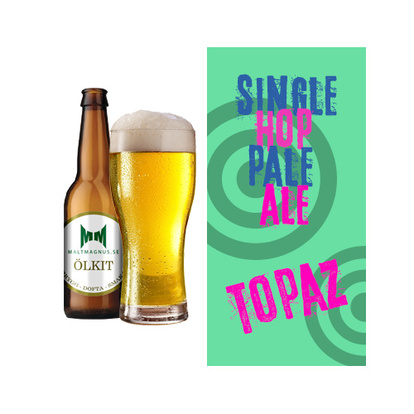 Single Hop Pale Ale Topaz | 20 L