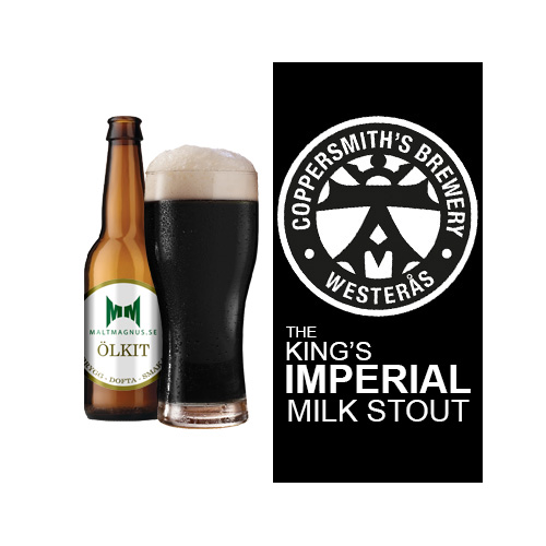 Coppersmith's - Imp Milk Stout 10 L